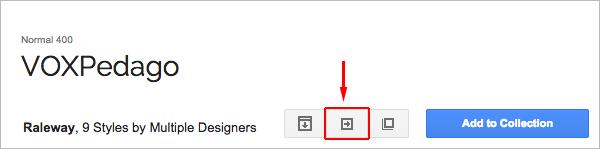 Proprietes Fonts Google